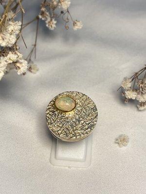 Opal Ring Vergoldet