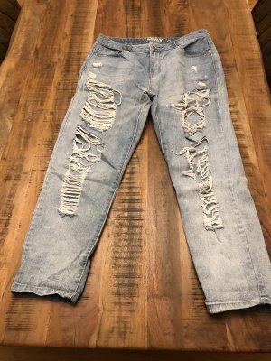 Only Jeans boyfriend bleu azur