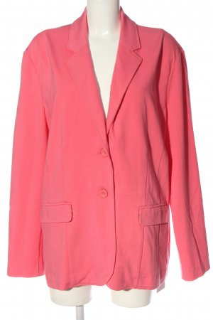 Open End Marynarka dresowa różowy W stylu casual