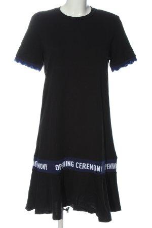 Opening Ceremony Robe Sweat imprimé avec thème style décontracté