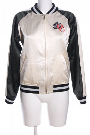 Opening Ceremony Reversible Jacket black-cream themed print casual look