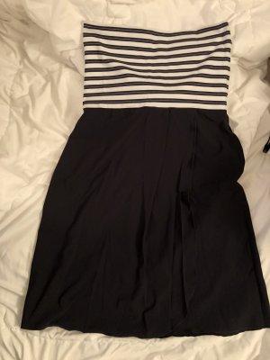 Opera Strój kąpielowy (sukienka) czarny-biały