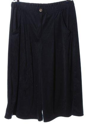 OPHILIA Falda pantalón de pernera ancha azul look casual
