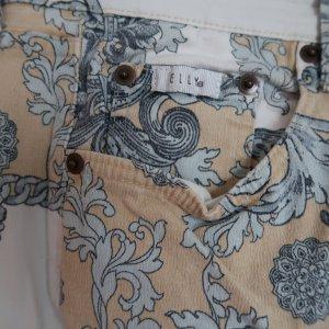 Elly Italia Pantalone cinque tasche multicolore Cotone