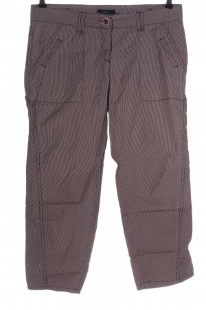 Opus 7/8 Length Trousers pink-black allover print casual look
