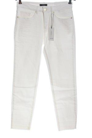 Opus Jeansy 7/8 biały W stylu casual