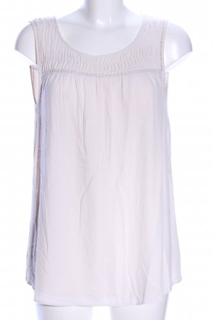 Opus Top linea A bianco sporco stile casual