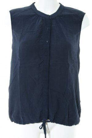 Opus ärmellose Bluse blau Casual-Look