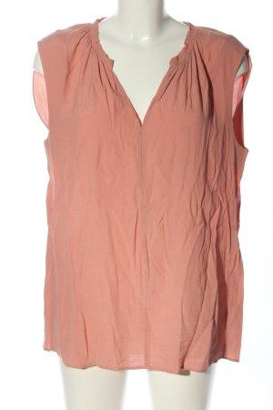 Opus ärmellose Bluse pink Casual-Look