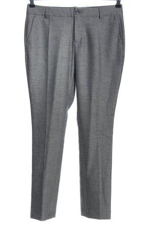 Opus Pantalon de costume gris clair moucheté style d'affaires