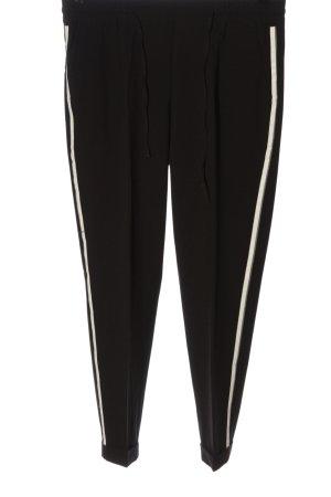 Opus Baggy Pants black-white casual look