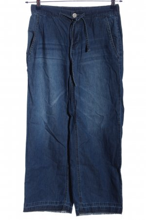 Opus Baggy jeans blauw casual uitstraling