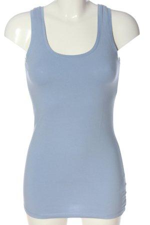 Opus Top basic blu stile casual
