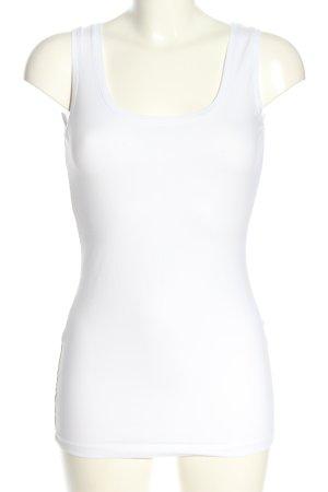 Opus Basic Top weiß Casual-Look