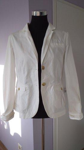Opus Blazer en jean blanc