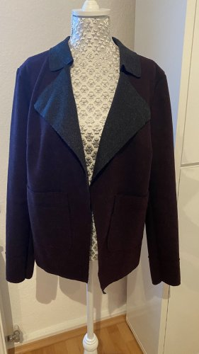 Opus Blazer stile Boyfriend antracite-bordeaux