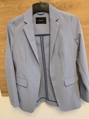 Opus Lange blazer azuur