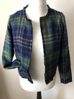 Opus Tweed blazer veelkleurig Viscose