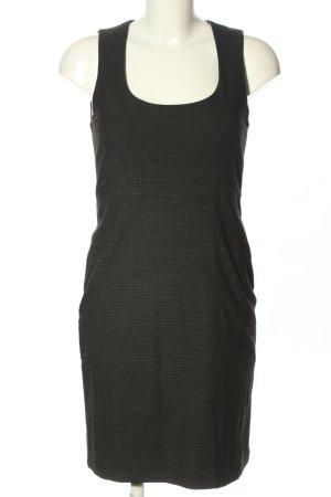 Opus Ołówkowa sukienka jasnoszary W stylu biznesowym