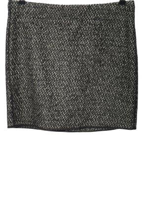 Opus Jupe crayon noir-blanc moucheté élégant