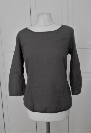 Opus Carmen blouse grijs-donkergrijs