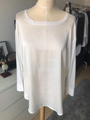 Opus Bluse / Shirt in Weiß Creme