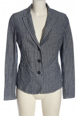 Opus Blouse Jacket blue-white allover print casual look