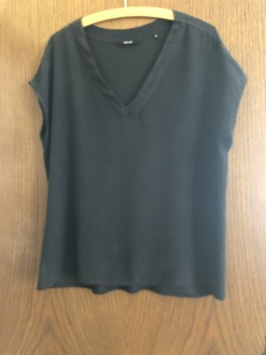 Opus Blouse Shirt anthracite-black