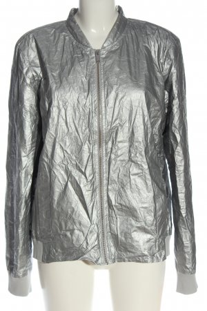 Opus Giacca bomber argento stile casual