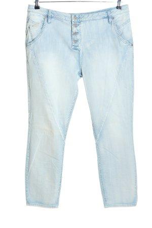 Opus Jeans a 7/8 blu stile casual