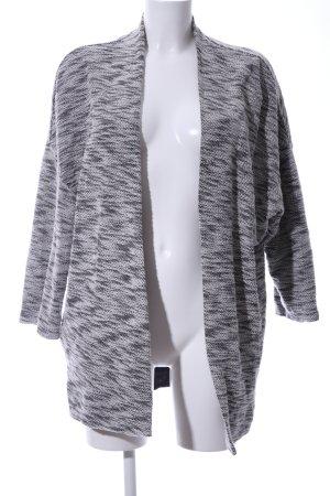 Opus Cardigan light grey-black flecked simple style