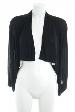 Opus Cardigan schwarz Business-Look