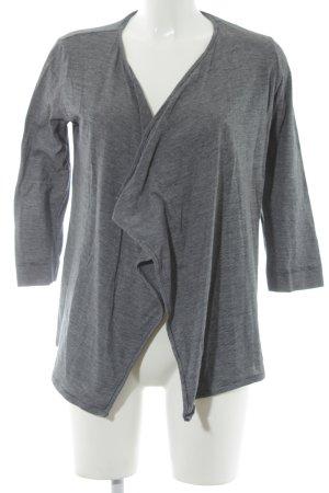 Opus Cardigan schwarz-weiß Streifenmuster Casual-Look