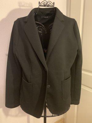 Opus Jersey Blazer negro