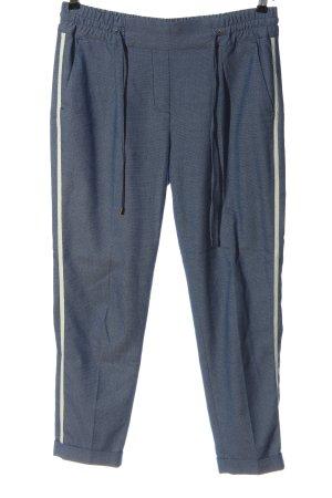 Opus Pantalon chinos bleu style décontracté