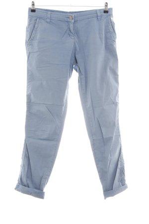 Opus Chinohose blau Casual-Look