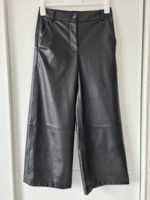 Opus Falda pantalón de pernera ancha negro