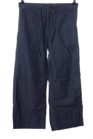 Opus Pantalone culotte blu stile casual