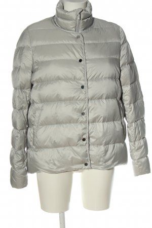 Opus Down Jacket light grey quilting pattern casual look