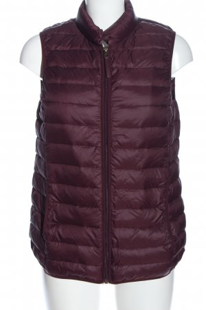 Opus Down Vest red quilting pattern casual look