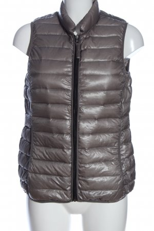Opus Down Vest light grey quilting pattern casual look