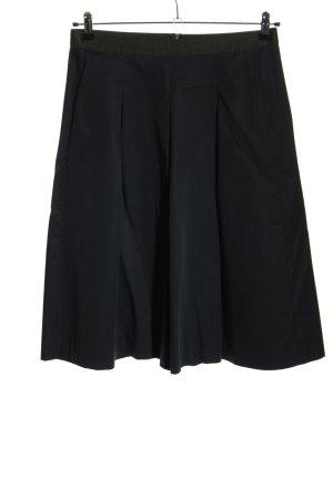 Opus Plisowana spódnica niebieski-jasnoszary W stylu casual