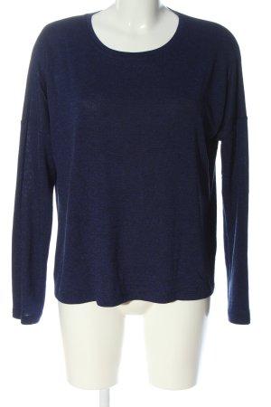 Opus Fine Knit Jumper blue casual look