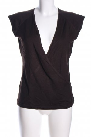 Opus Fine Knitted Cardigan brown casual look