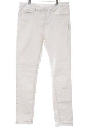 Opus Pantalon cinq poches crème style décontracté