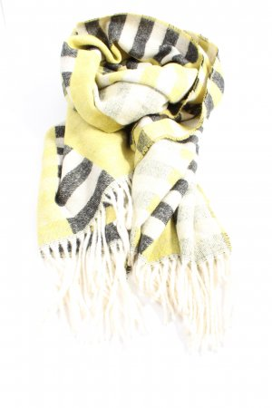 Opus Fringed Scarf allover print casual look