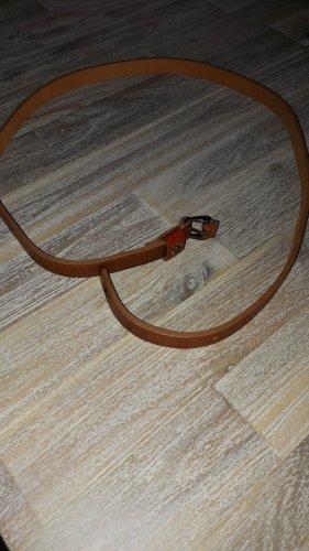 Opus Cintura di pelle marrone