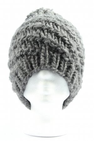 Opus Crochet Cap light grey casual look