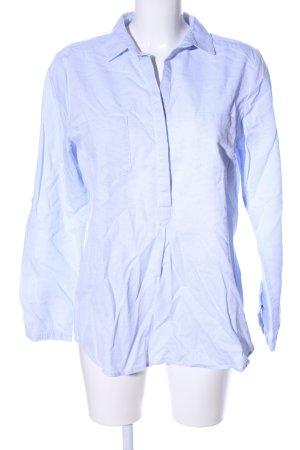Opus Hemd-Bluse blau Allover-Druck Business-Look