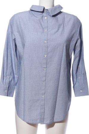 Opus Hemd-Bluse blau Business-Look
